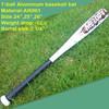 "Brand NEW 2014 Tee Ball Bat 24""- 26"" (-12.5) made from 6061 aluminum baseball bat"