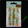 Lemon Green Colourful Gem stickers