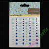Turquoise and Navy blue Adhesive Pearl ,Scrapbooking pearl sticker