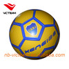 yellow soccer ball , colorful soccer ball , machine stitched footballs , footballs soccer balls , wholesale plastic footballs