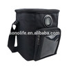 Fashionable outdoor insulated cooler bag with speaker