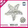 Crystal star shaped napkin rings napkin rings
