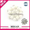Wedding decorative pearl diamond ring napkin holders