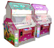 fashionale design kids coin operated game machine/kids toy crane claw machine