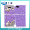 high quanlity diamond phone case bling case for iphone 5s