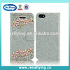 high quanlity phone case bling case diamond phone case for iphone 5s