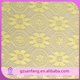2014 new arrival yellow embroidery designs lace indian suits