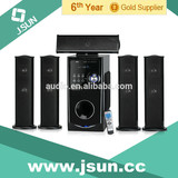 HOT SALE! Wooden case active 5.1 home theater system