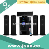 Hot selling! Wooden cabinet 5.1 home theater system