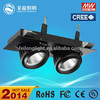 surface mounted led down light 60w led grille down light