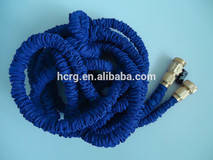 brass fitting expandable garden hose