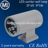 new design outdoor wall lamp /best price for 9w led wall lamp