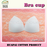 Modern design swimsuit triangle molded bra cup