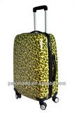 Leopard Custom Designer Trolley Luggage Case
