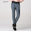 new long design women harem pants with rhinestone emborideried