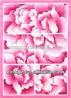 Loving pink nylon prining carpet rug