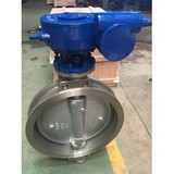 ASTM A351 CF8 Triple Eccentric Wafer Butterfly Valves