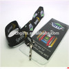Polyester material lanyards with ID card holder(Z-10)