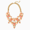 the necklace colorful baubles chunky jewellery