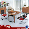 modern design hot sale wooden office desk online office business desk furniture manager desk M615