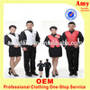 Custom waistcoat hotel reception uniform