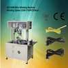 Automatic wire coiling winding twisting binding tie machine