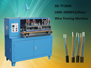 Fully automatic wire stripping,twisting,tinning processing machine