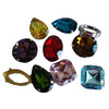 Popular fancy loose crystal stones,CP001
