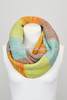 2014 Winter Scarf Knitted Acrylic Infinity Scarf- 3 tone
