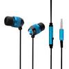 fashion design OEM flat wire earphone mental
