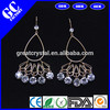 dangle earrings more than 12 pcs rhinestone from jewelry factory