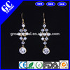 crystal and rhinestone pendant earrings for female jewelry factory