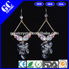 crystal knot crystal earrings from jewelry factory