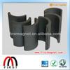 High Grade Permanent Ferrite Magnet Segment Y30/Y35