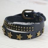 stylish black wrap bracelet