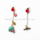 New Trends Blue Stone Korean Model Selling Earring