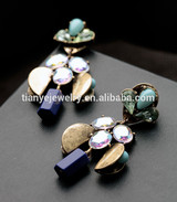 Brass Gold Plated Earring Jewelry