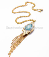 Chain Necklace in Roll Pendant Jewelry For Men