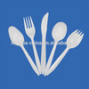PS disposable plastic cutlery ,Fork