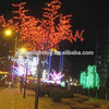 Outdoor christmas cherry tree light artificial fan palm trees