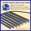factory supply round bar SUS304 stainless steel linear shafts high straightness g6 h6 standard