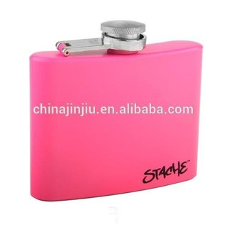 2014 new designed hip flask in different color