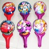 Minnie Clapper stick balloon 50cmx30cm multiful mixed cheering stick balloon
