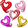 "Venlentines heart foil balloons 43"" Crave Heart Helium Balloons Docration"