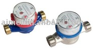 Single jet dry type water meter LXSC-13D3-25D3