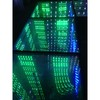 Time Tunnel Effect LED Mirror Dance Floor for Night Club