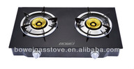 2 Burners Tempered Glass Gas Stove BW-XK2010