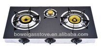 3 Burners Tempered Glass Gas Stove BW-XK3003
