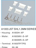 A1003 JST SHL 1.0mm 1.0mm Pitch, Right Angle Wafer, 2 Pins, Replacement for SM02B-SHLS-TF