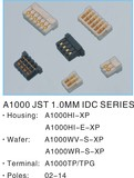 A1000 JST 1.0mm Pitch, IDC/HSG/Vertical Wafer/Right Angle, Terminal, Replace JST 1.0